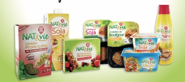 La Marque Repère poursuit le développement de sa marque veggie NAT&vie