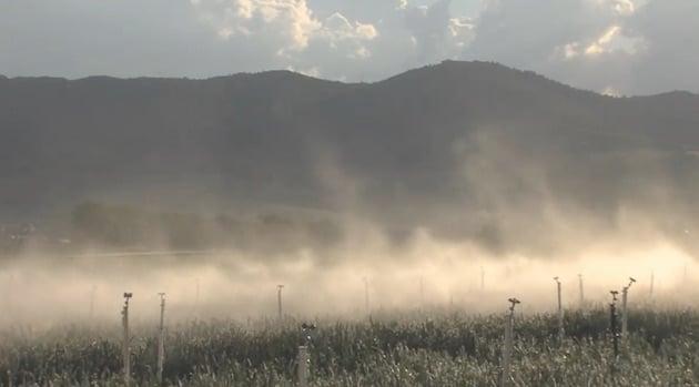 Innovation agroécologique : Un nouveau dispositif de brumisation
