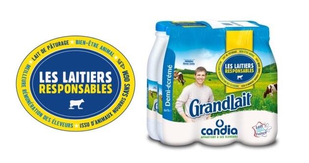 """Candia lance """"Les Laitiers Responsables"""" pour la revalorisation de la filière laitière française"""