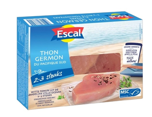 Une gamme de filets de poissons certifiés MSC en surgelé