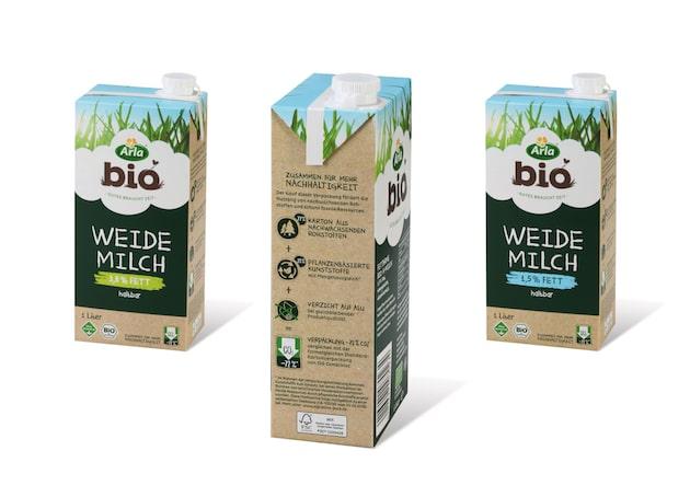 Arla Foods opte pour un emballage aseptique à base de plantes