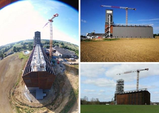 Un nouveau silo pour Agribio Union