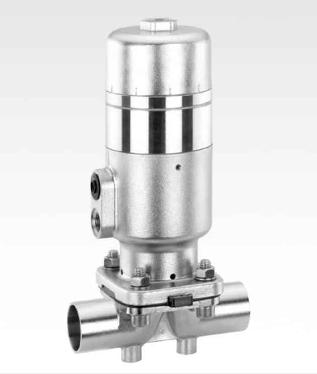 Fluides: La vanne à membrane 2/2 voies 660 idéale pour le dosage et le remplissage d'un grand nombre de fluides