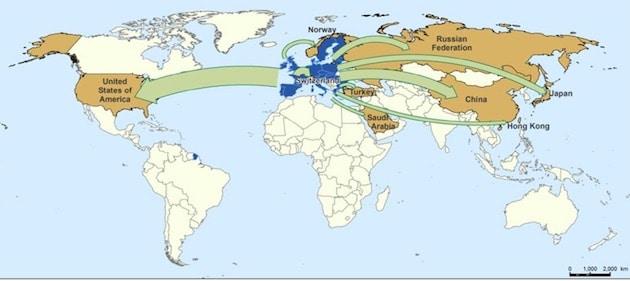 L'UE reste en tête du commerce agroalimentaire mondial