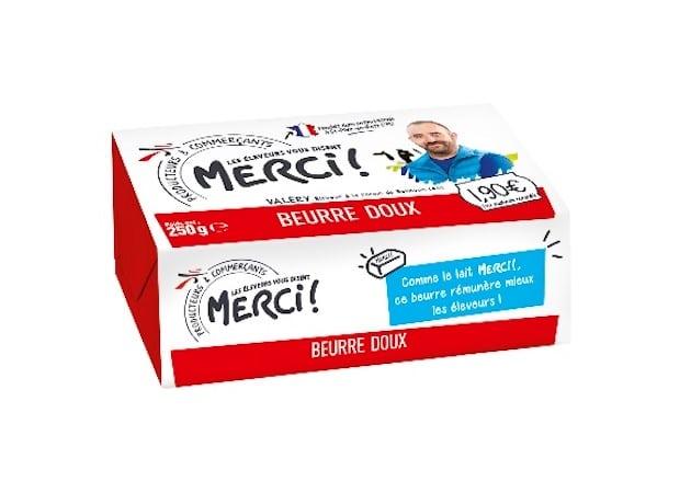 Consommation responsable : Après le lait, le beurre arrive en rayon pour Les éleveurs vous disent Merci ! dans - Pays de Loire beurre