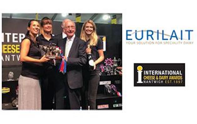 Fromages : Carton plein pour Eurilait aux International Cheese Award 2018