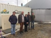 Process : Unéal inaugure l'une des premières unités de micro-méthanisation adaptée à une exploitation laitière