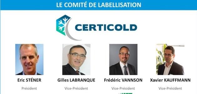 Nomination : Certicold, un nouveau président pour le comité de labellisation