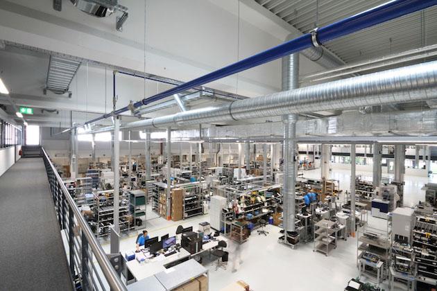 Endress+Hauser inaugure une nouvelle installation de production ultramoderne