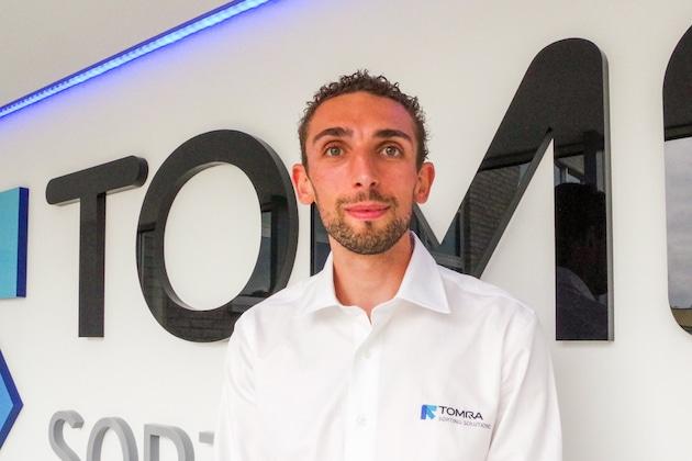 Grégoire Volpoet, rejoint l'équipe commerciale de Tomra Food