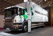 Équipements : Le premier camion frigorifique de transports équipé au bioéthanol