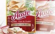 Aoste remplace les additifs E par des ingrédients naturels