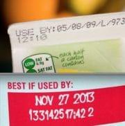 Aux Etats-Unis, un double étiquetage de date satisfait le consommateur