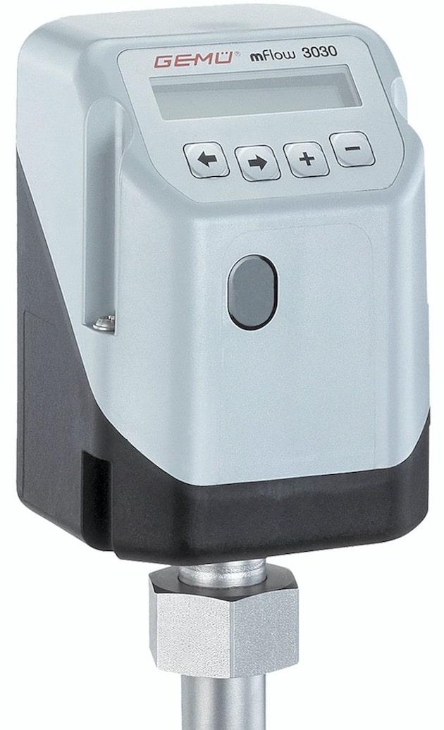 Process et maintenance : Une parfaite mesure du débit assurée avec le débitmètre Gemü 3030 mFlow