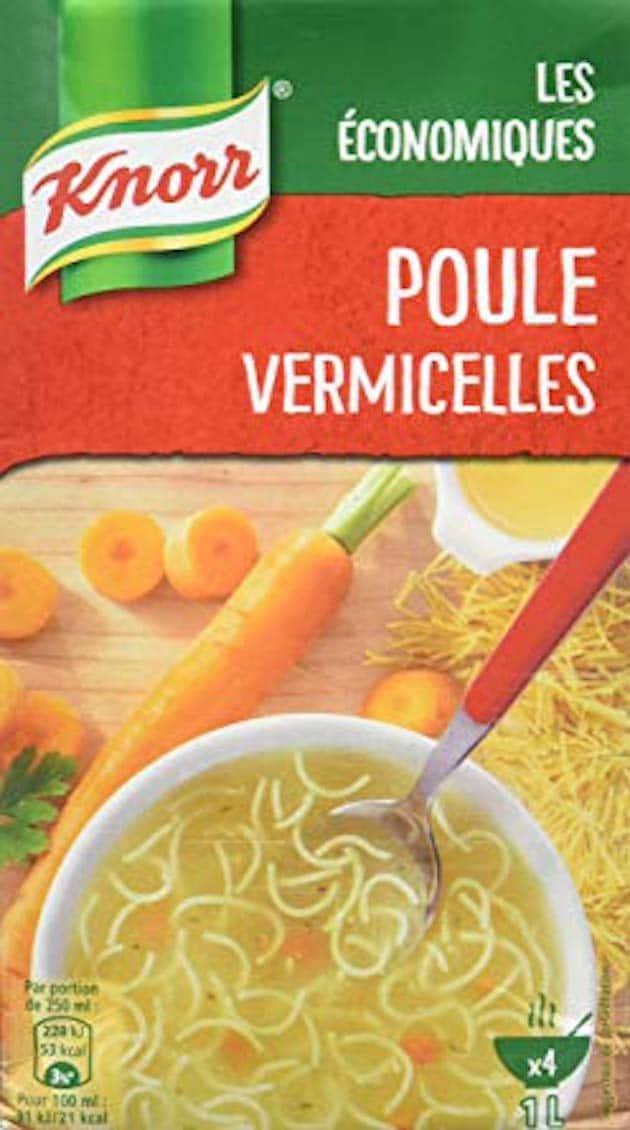 Soupes : Cinq grandes marques épinglées par foodwatch