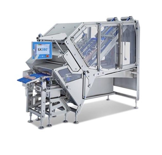 Équipement : Le nouveau SX380 avec système de cantonnement pour aider les transformateurs de garnitures à pizza