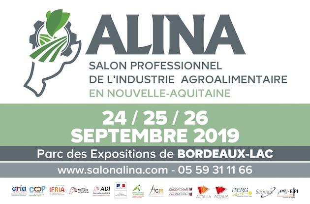 ALINA : La Nouvelle-Aquitaine accueille un nouveau salon professionnel pour l'industrie agroalimentaire