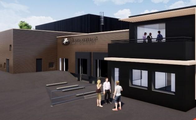 Un nouvel entrepôt pour le grand glacier parisien, Amorino