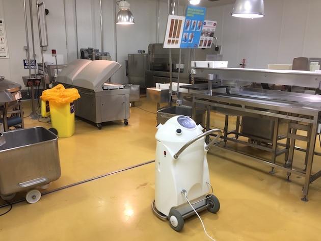 CFIA 2019 / Oxy'Pharm : La désinfection automatisée par voies aériennes avec l'innovant concept Nocotech
