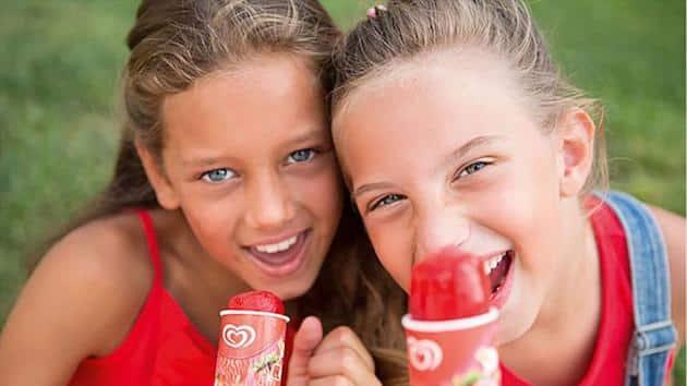 Glaces : Unilever maintient ses positions de leader sur la catégorie glaces