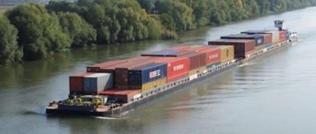 Transport : La relance du secteur agroalimentaire profite au mode fluvial