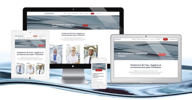 Ocene met en ligne son nouveau site internet