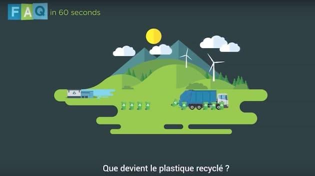 Que devient le plastique recyclé ?