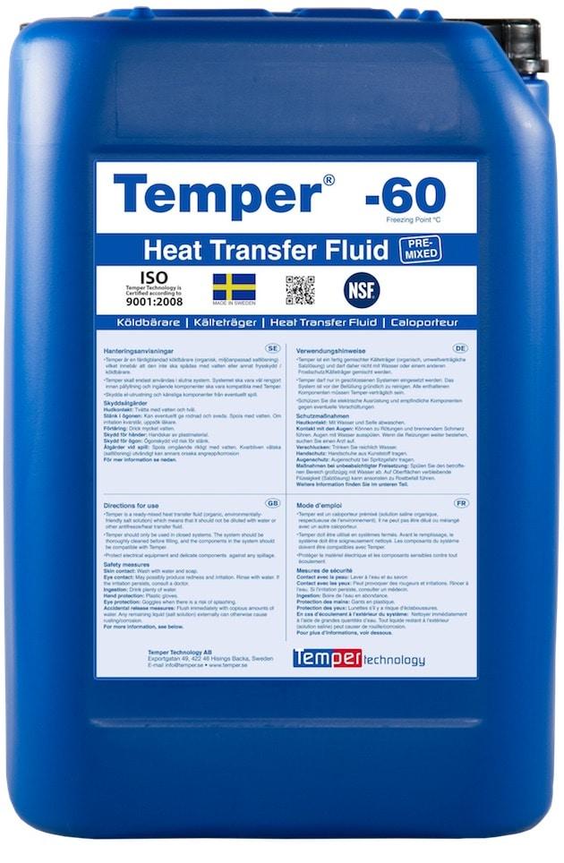Frigoporteur : Pour la production de froid en agroalimentaire, optez pour Temper, le caloporteur de Climalife