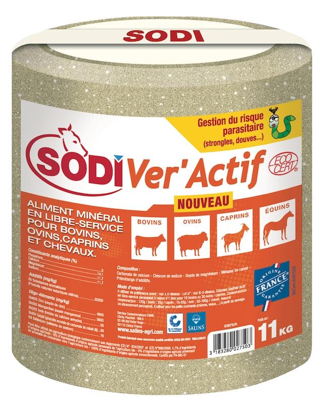 Élevage : SodiVer'Actif, un nouveau bloc à lécher contribuant à la gestion du risque parasitaire interne