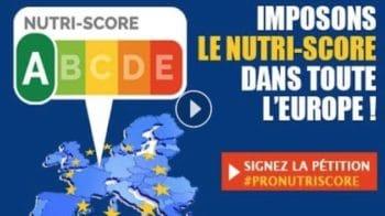 Une pétition européenne pour rendre obligatoire le Nutri-Score au sein de l'Union