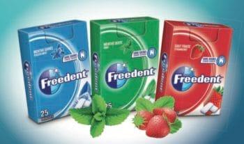 Emballage : Des nouveaux formats nomades et durables pour Freedent