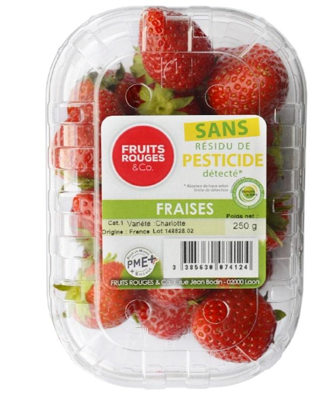 Etiquetage : Deux nouvelles mentions «Sans résidu de pesticide détecté»et «cultivé Sans pesticide de synthèse» en rayon