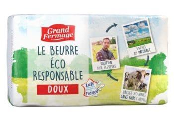 Lancement du premier beurre éco-responsable issu du lait Via Lacta