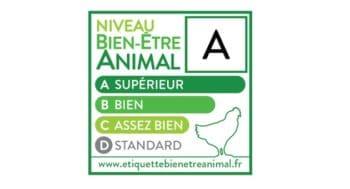 Le premier étiquetage sur le bien-être animal récompensé