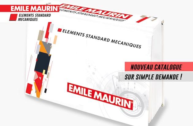 Composants normalisés : Plus de 53 000 références dans le nouveau catalogue Emile Maurin