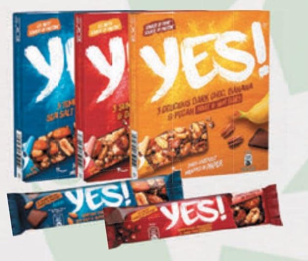 Emballage : Les Barres Yes ! passent au papier recyclable
