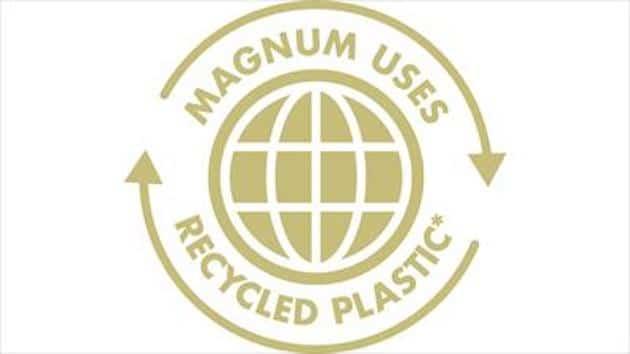 Emballage : Magnum lance les premiers pots en plastique recyclé