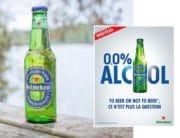 Heineken double la mise sur les bières 0.0 en France