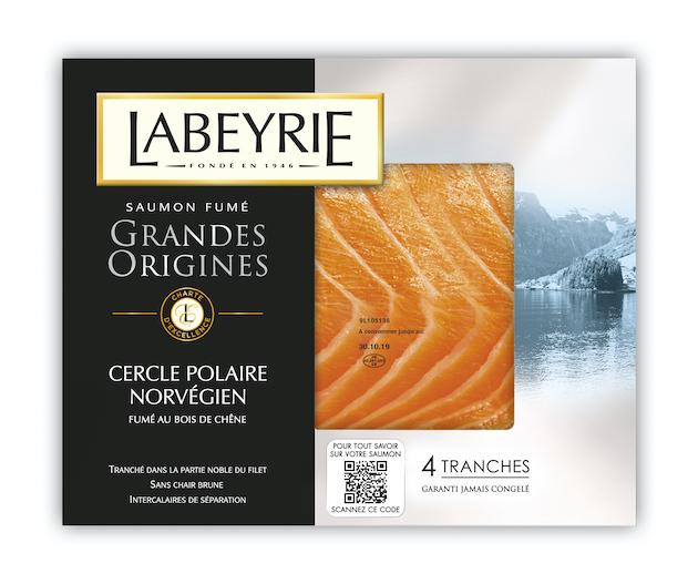 Blockchain: Labeyrie renforce le dispositif de de traçabilité de ses saumons fumés