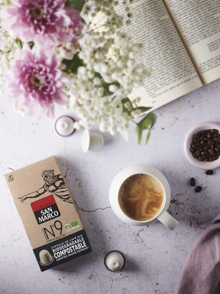 Emballage: Du café bio en capsules compostables entièrement éco-conçues pour séduire le consommateur
