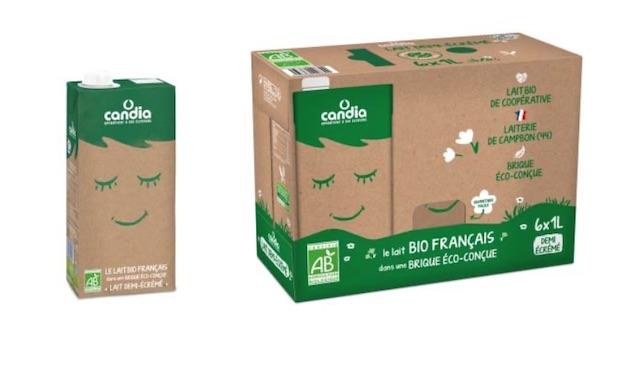 Oscar de l'Emballage2019 : La brique Bio éco-conçue Candia primée