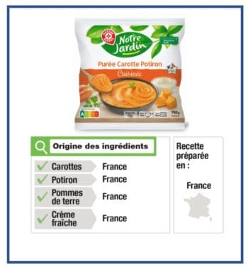 Traçabilité: Pour répondre à Intermarché, E.Leclerc s'engage avec ses MDD alimentaires à les indiquer pour tous ses produits