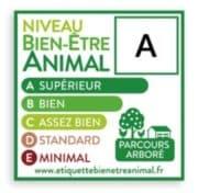 Carrefour, Galliance et les magasins U adoptent l'étiquetage Bien-être Animal