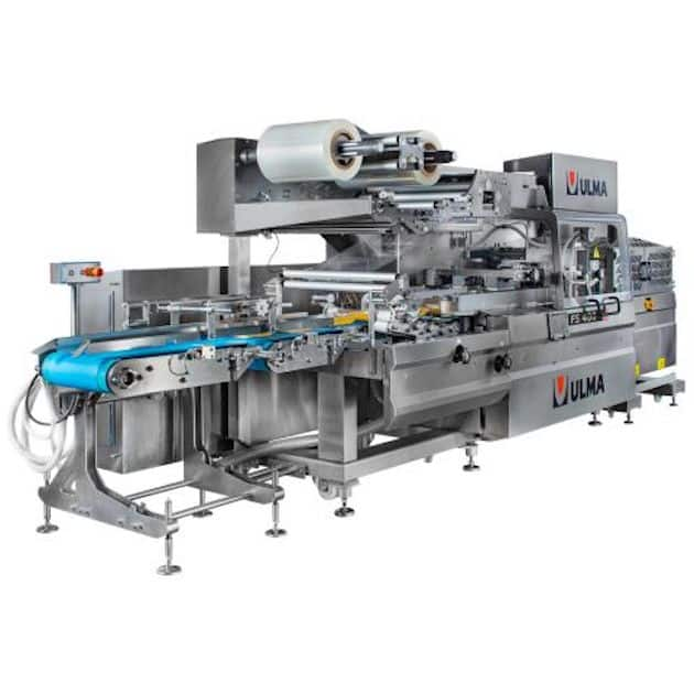 Conditionnement de viande: Harpak-Ulma présente la FS-400 Flow Wrapper
