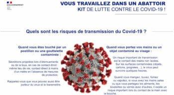Covid-19 : Des fiches conseils métiers pour l'agroalimentaire