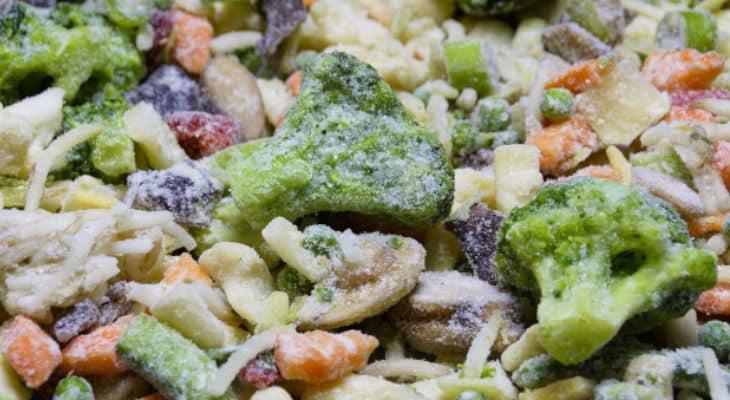 Légumes surgelés : Les préconisations de l'Efsa pour réduire les risques de listéria