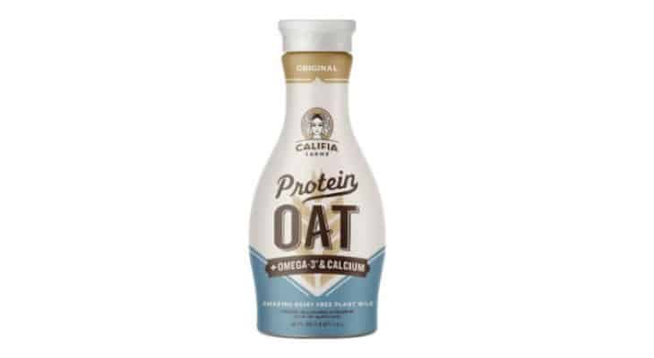 Califia Farms exploite la protéine d'avoine en alternative au lait laitier