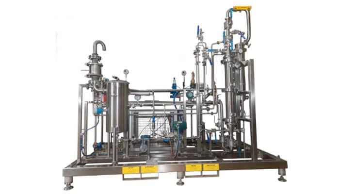 Flavourtech lance une colonne en résine pour la production de boissons sans alcool