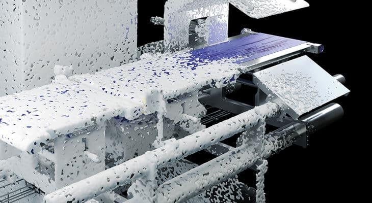 Une nouvelle gamme de trieuses pondérales résistantes aux lavages à grande eau