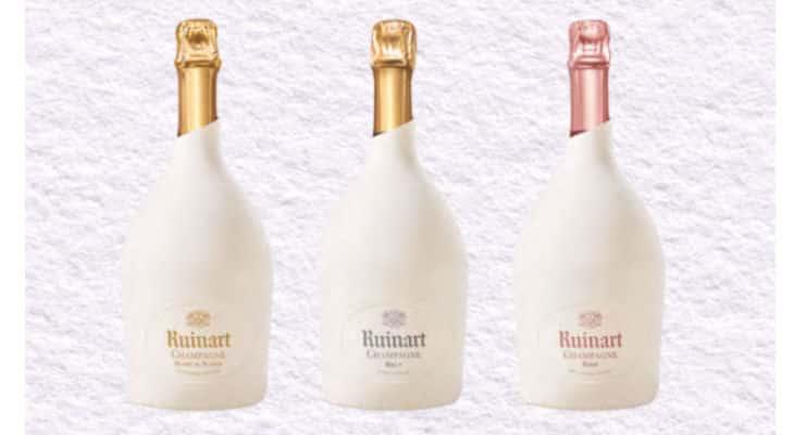 Champagne : La Maison Ruinart révolutionne le packaging